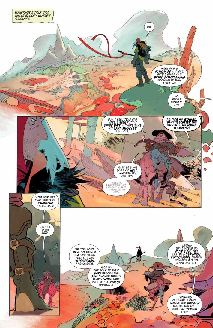 CODA_v1_DiscoverNow_SC_PRESS_10 ComicList Previews: CODA VOLUME 1 TP (DISCOVER NOW EDITION)
