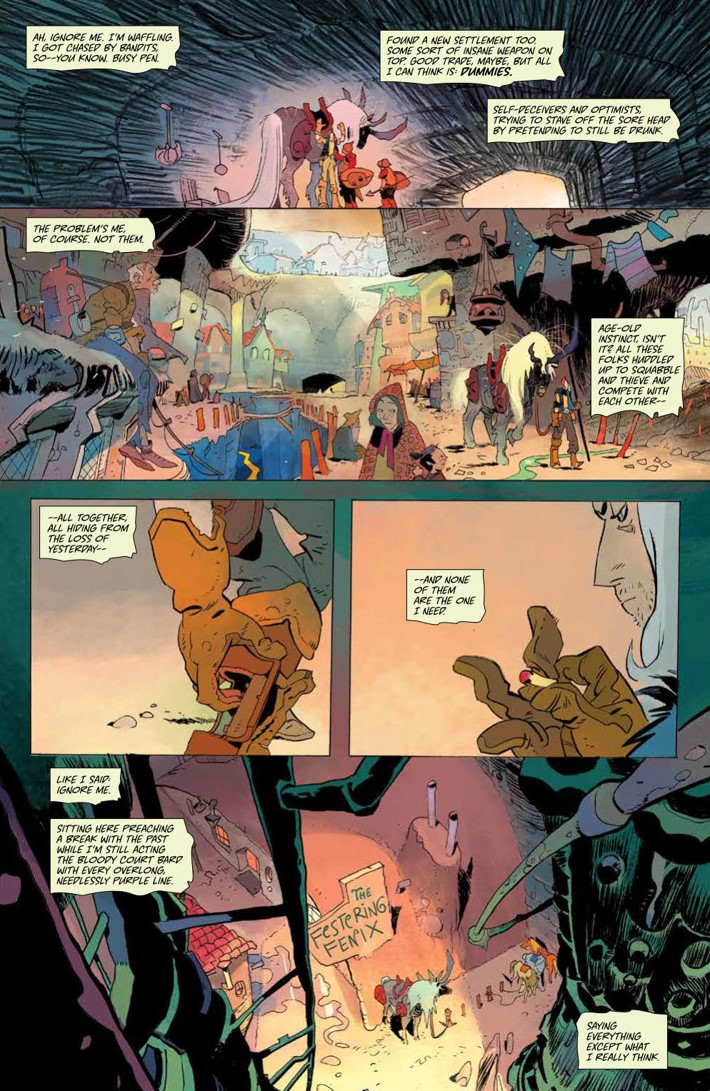 CODA_v1_DiscoverNow_SC_PRESS_16 ComicList Previews: CODA VOLUME 1 TP (DISCOVER NOW EDITION)