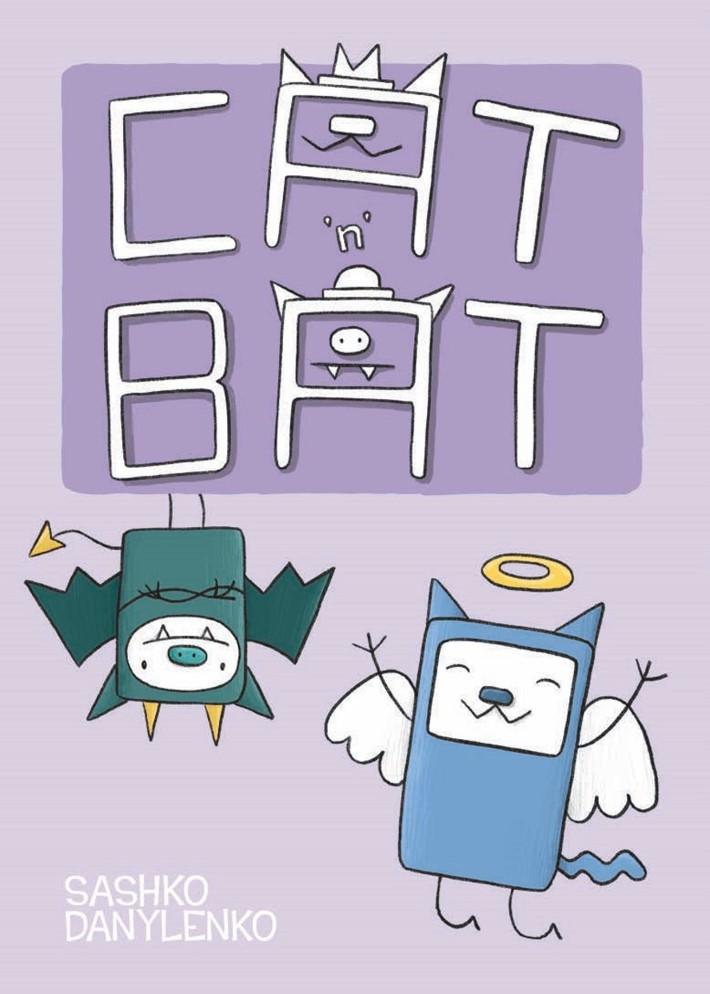 CatnBat-pr-1 ComicList Previews: CAT 'N' BAT TP
