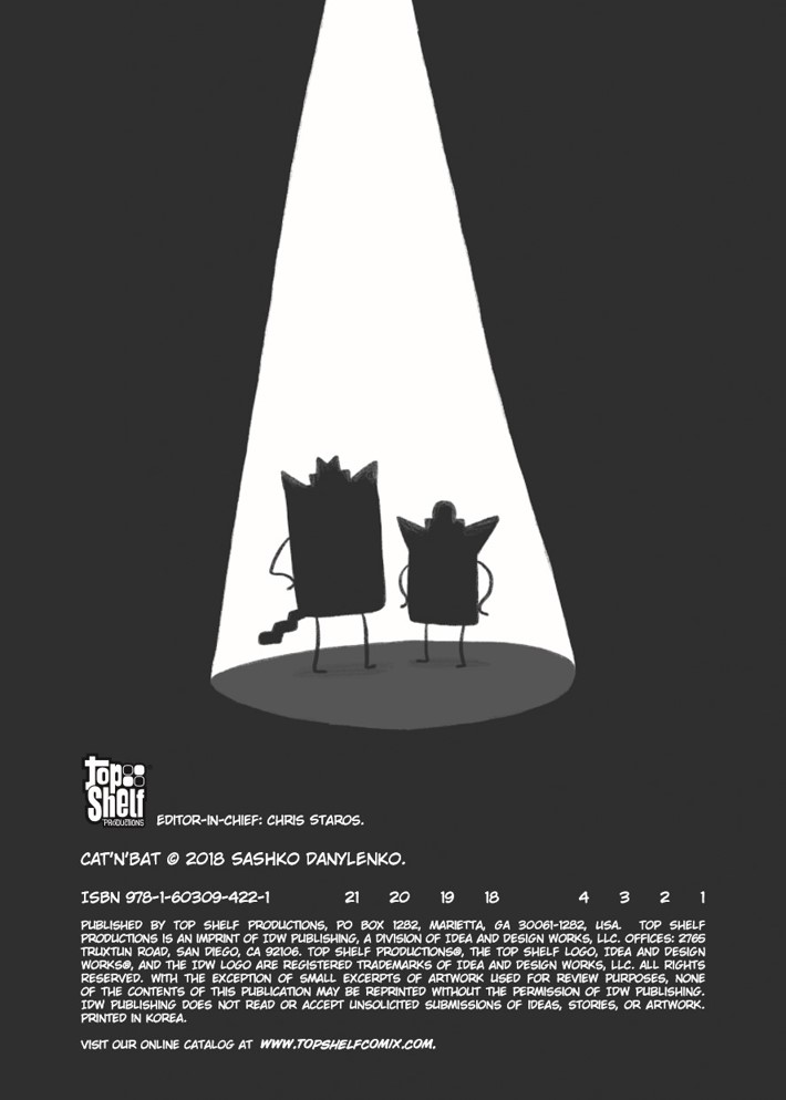CatnBat-pr-2 ComicList Previews: CAT 'N' BAT TP