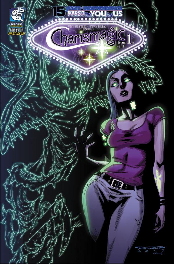 Charismagic-v3-01b-Randolph_1 ComicList Previews: CHARISMAGIC VOLUME 3 #1