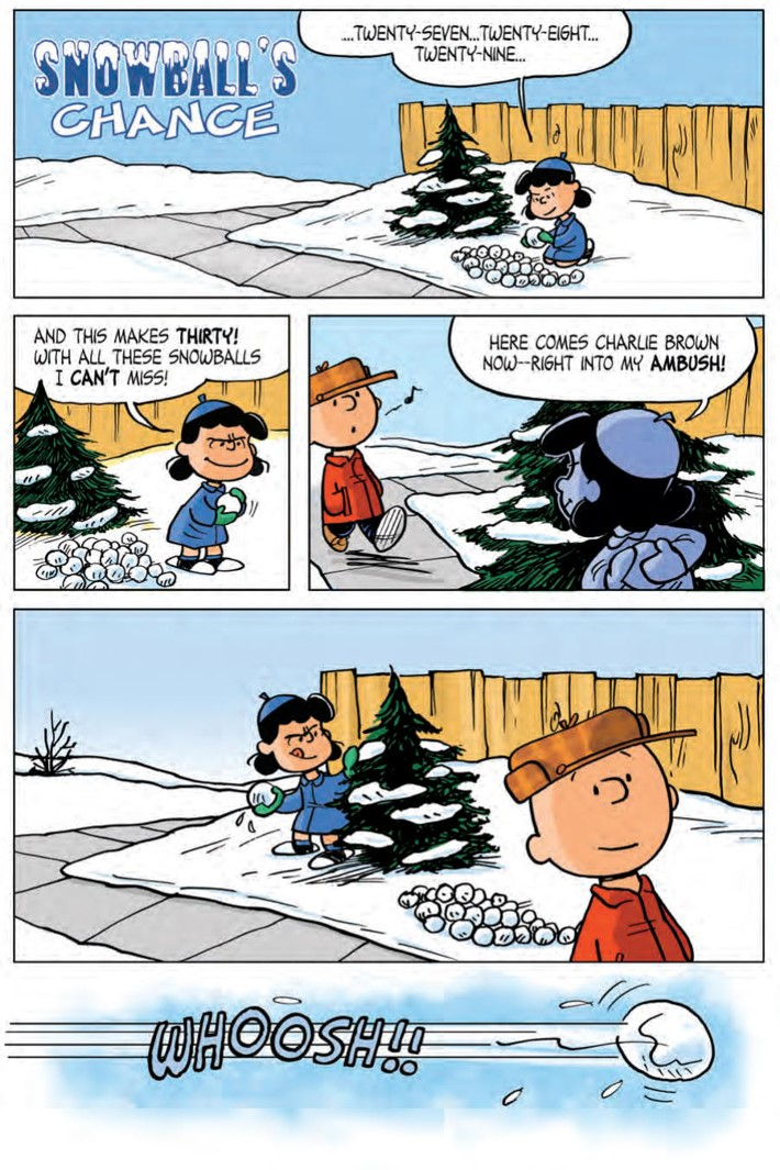 CharlieBrown_HC_PRESS_25 ComicList Previews: CHARLIE BROWN A PEANUTS COLLECTION HC