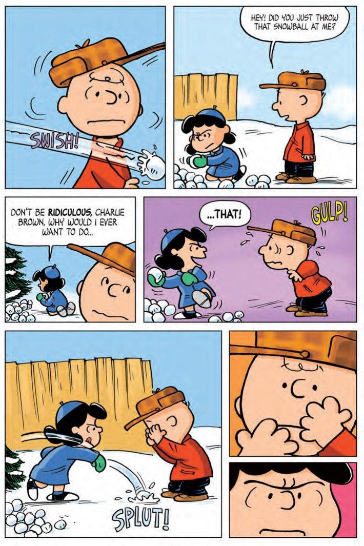 CharlieBrown_HC_PRESS_26 ComicList Previews: CHARLIE BROWN A PEANUTS COLLECTION HC