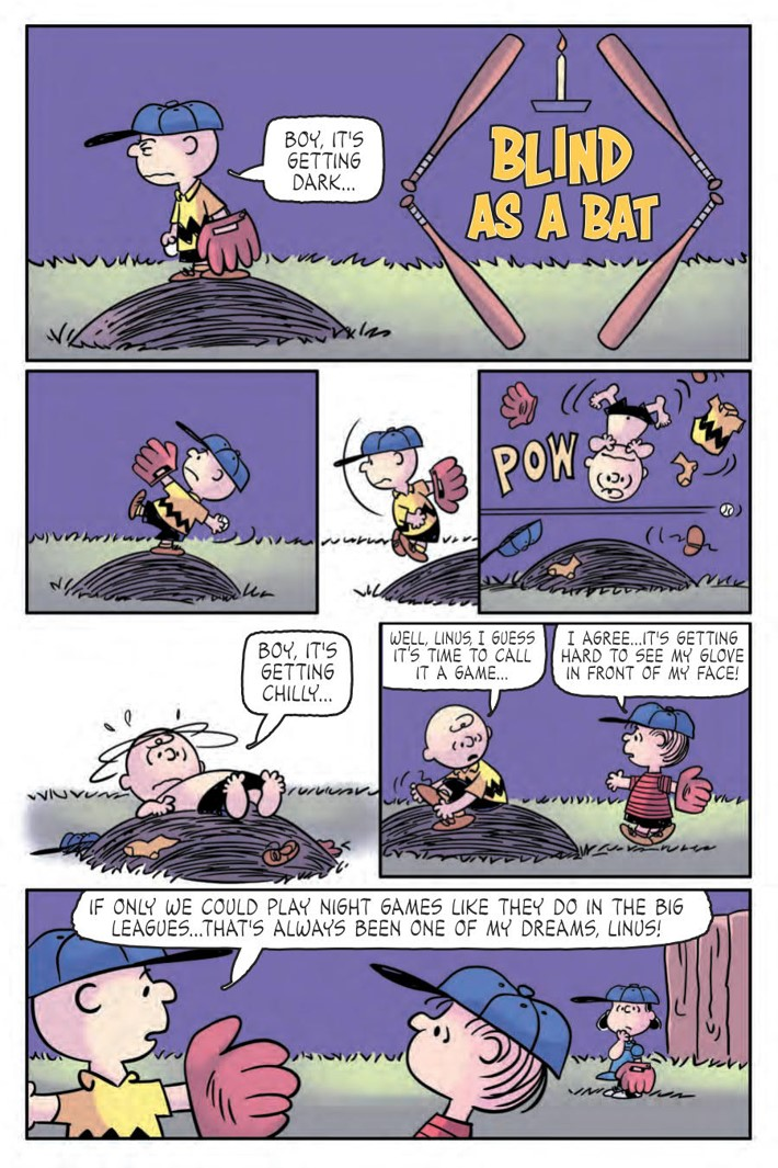 CharlieBrown_HC_PRESS_48 ComicList Previews: CHARLIE BROWN A PEANUTS COLLECTION HC