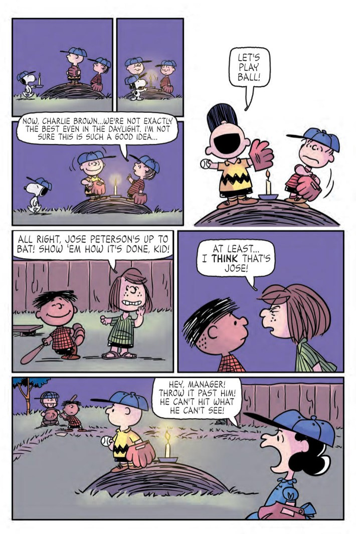 CharlieBrown_HC_PRESS_49 ComicList Previews: CHARLIE BROWN A PEANUTS COLLECTION HC