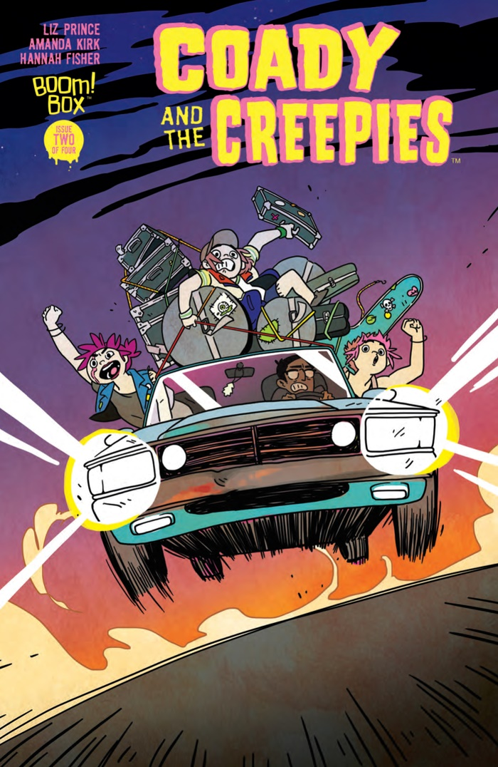 CoadyandtheCreepies_002_COVER_A_PRESS ComicList Preview: COADY AND THE CREEPIES #2