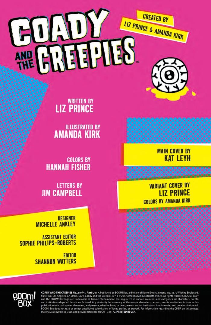 CoadyandtheCreepies_002_PRESS_2 ComicList Preview: COADY AND THE CREEPIES #2