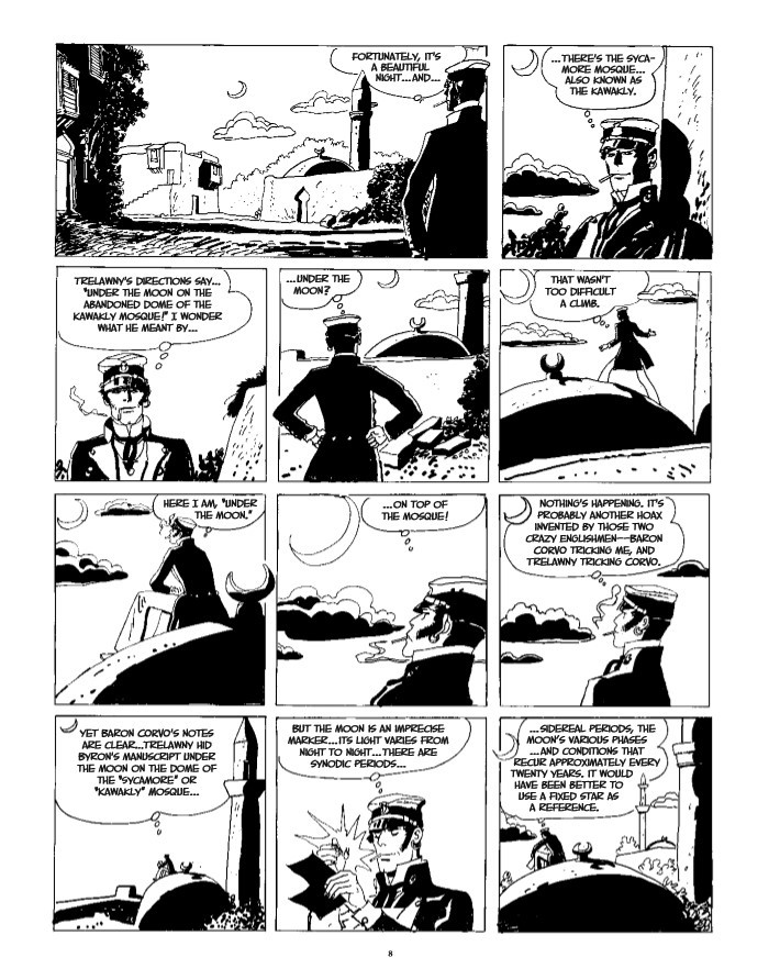CortoMaltese_v9_Samarkand-pr-4 ComicList Previews: CORTO MALTESE THE GOLDEN HOUSE OF SAMARKAND GN