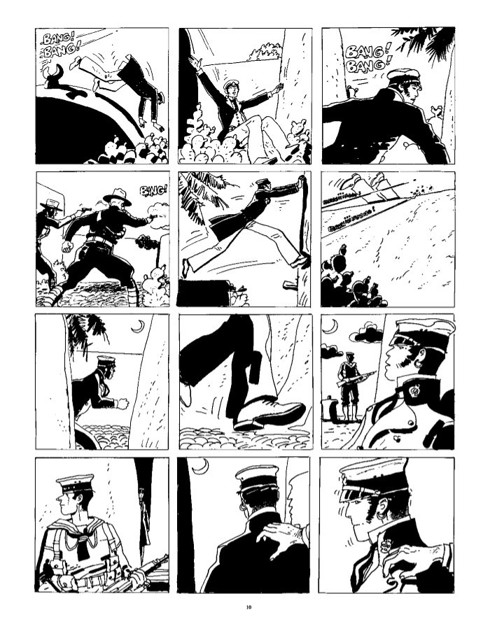 CortoMaltese_v9_Samarkand-pr-6 ComicList Previews: CORTO MALTESE THE GOLDEN HOUSE OF SAMARKAND GN