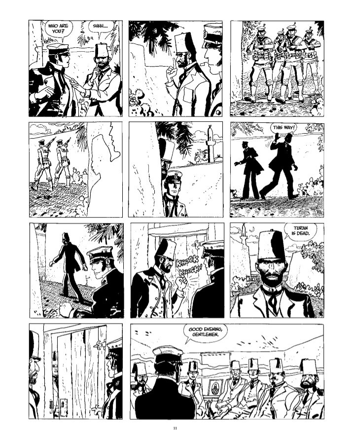 CortoMaltese_v9_Samarkand-pr-7 ComicList Previews: CORTO MALTESE THE GOLDEN HOUSE OF SAMARKAND GN