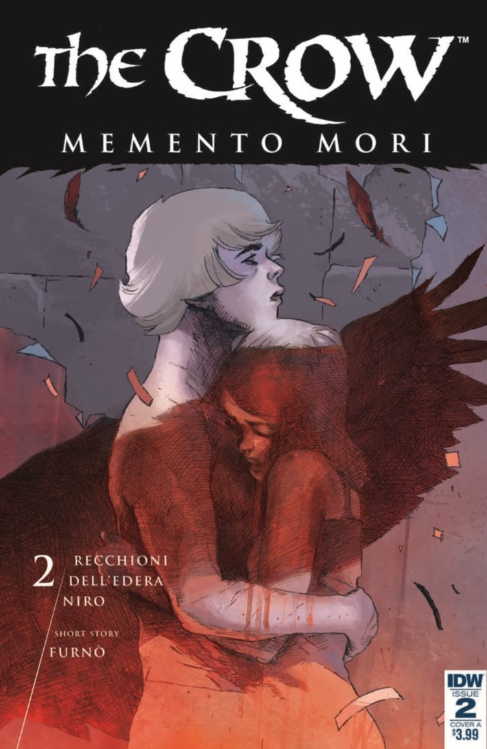 Crow_MementoMori_02-pr-1 ComicList Previews: THE CROW MEMENTO MORI #2