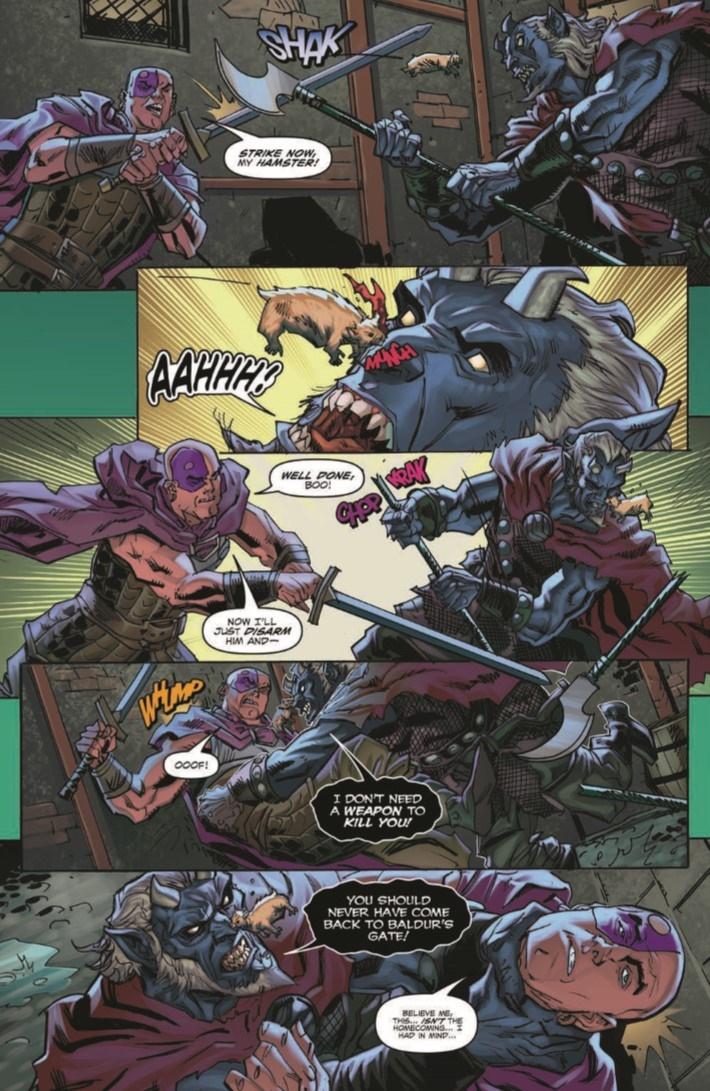 D&D_Baldur_01-pr-4 ComicList Previews: DUNGEONS AND DRAGONS EVIL AT BALDUR'S GATE #1