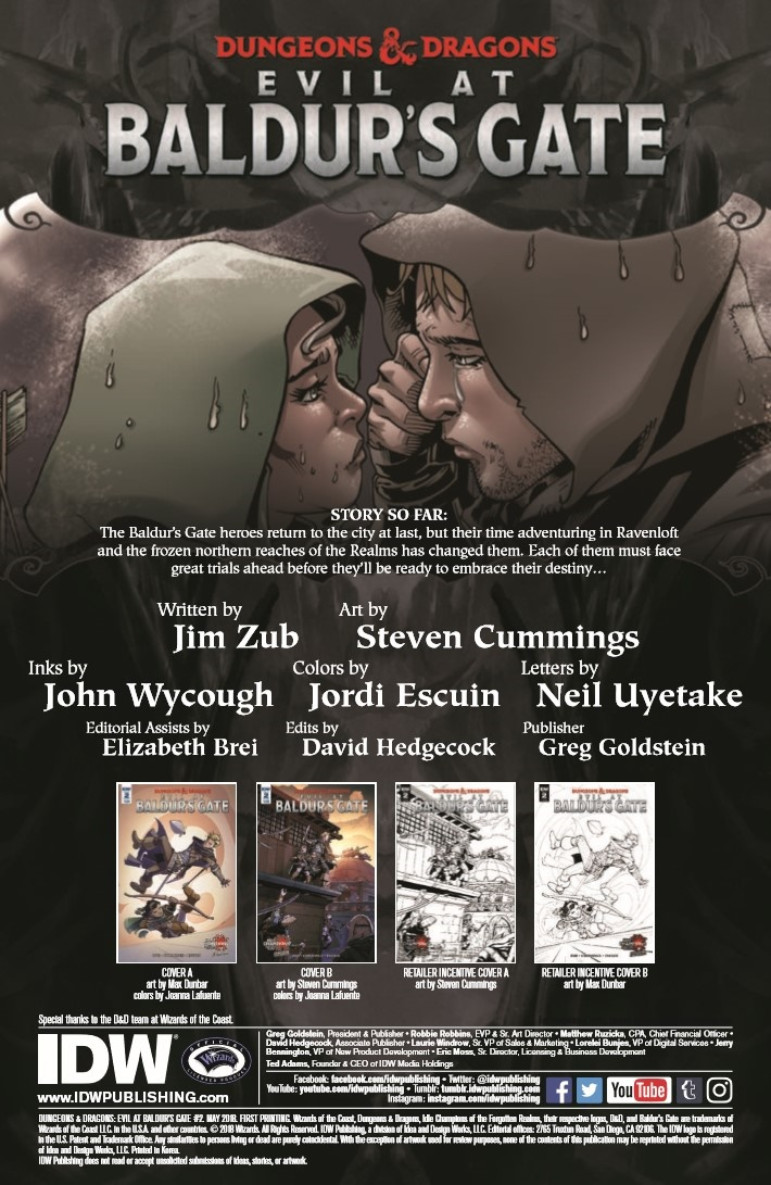 D&D_Evil_at_Baldurs_Gate_02-pr-2 ComicList Previews: DUNGEONS AND DRAGONS EVIL AT BALDUR'S GATE #2