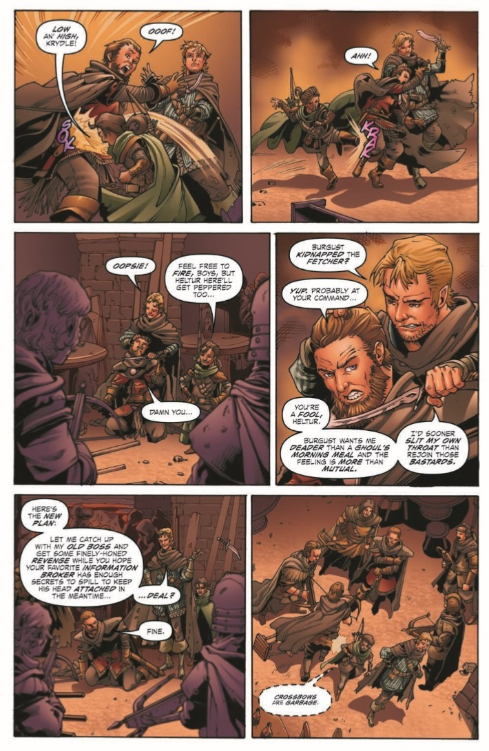 D&D_Evil_at_Baldurs_Gate_02-pr-5 ComicList Previews: DUNGEONS AND DRAGONS EVIL AT BALDUR'S GATE #2