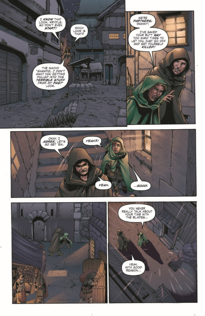 D&D_Evil_at_Baldurs_Gate_02-pr-6 ComicList Previews: DUNGEONS AND DRAGONS EVIL AT BALDUR'S GATE #2