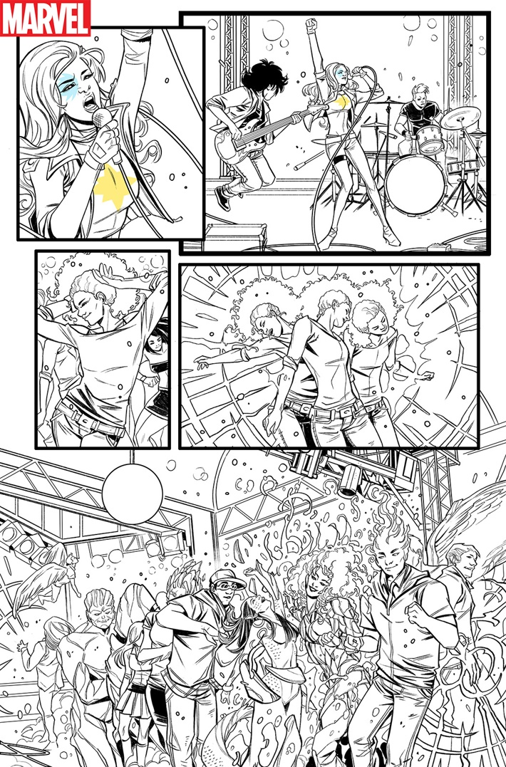 DAZZLER_001 ComicList Previews: DAZZLER X SONG #1