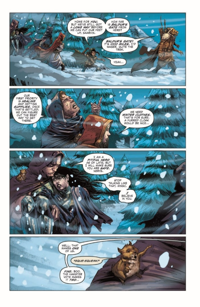DD_FGF_02-pr-4 ComicList Preview: DUNGEONS AND DRAGONS FROST GIANT'S FURY #2