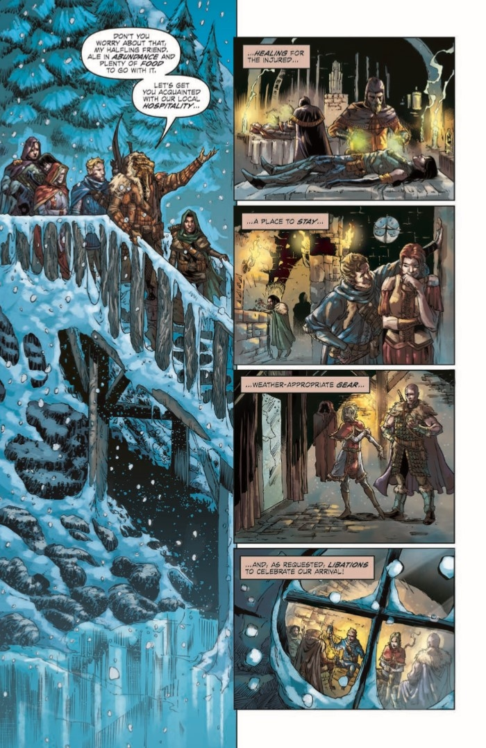 DD_FGF_02-pr-7 ComicList Preview: DUNGEONS AND DRAGONS FROST GIANT'S FURY #2