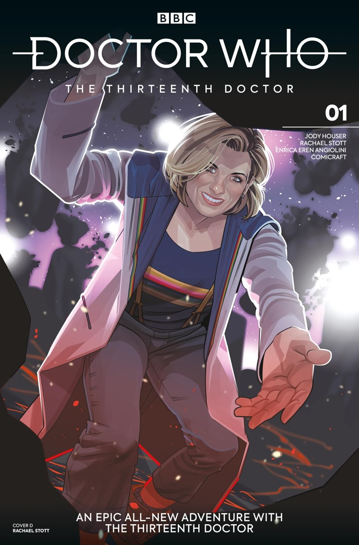 DW_13D1_Cover_D_Rachael_Stott ComicList Previews: DOCTOR WHO THE THIRTEENTH DOCTOR #1
