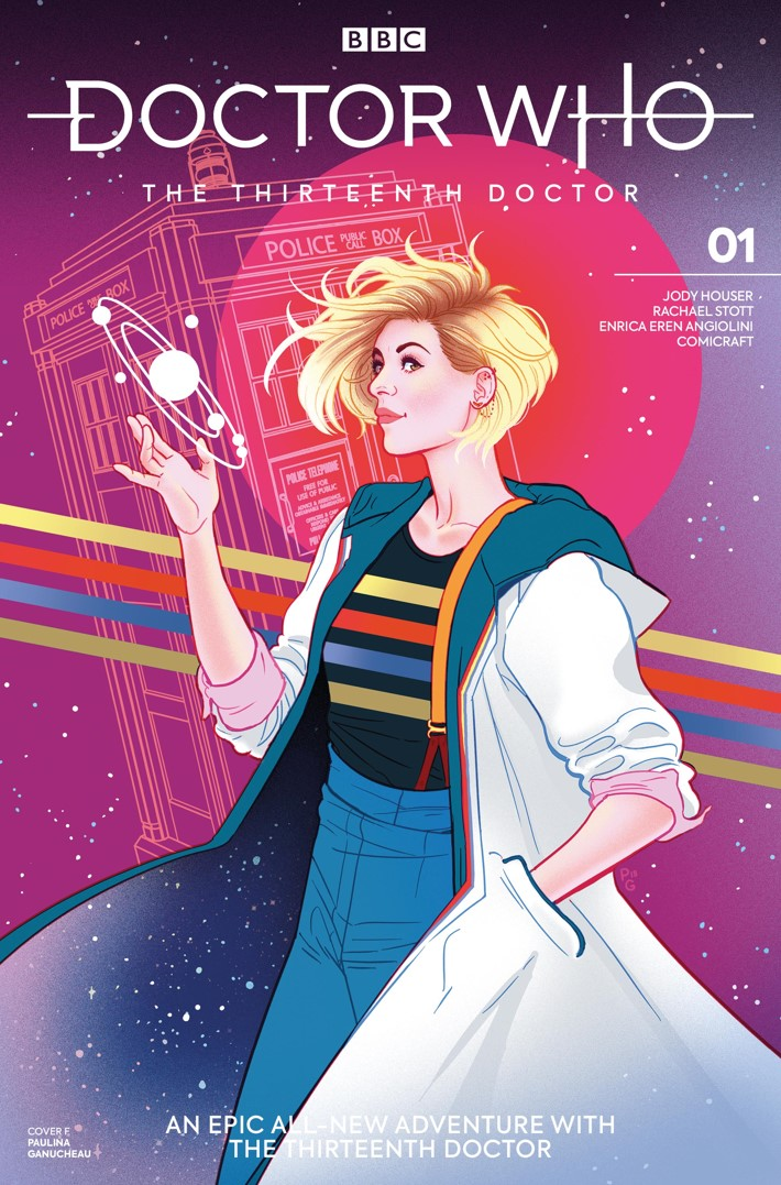 DW_13D1_Cover_F_Paulina_Ganucheau ComicList Previews: DOCTOR WHO THE THIRTEENTH DOCTOR #1