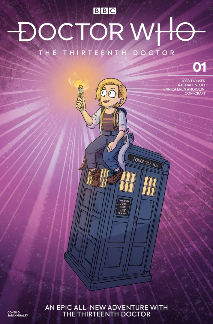 DW_13D1_Cover_G_Sarah_Graley ComicList Previews: DOCTOR WHO THE THIRTEENTH DOCTOR #1