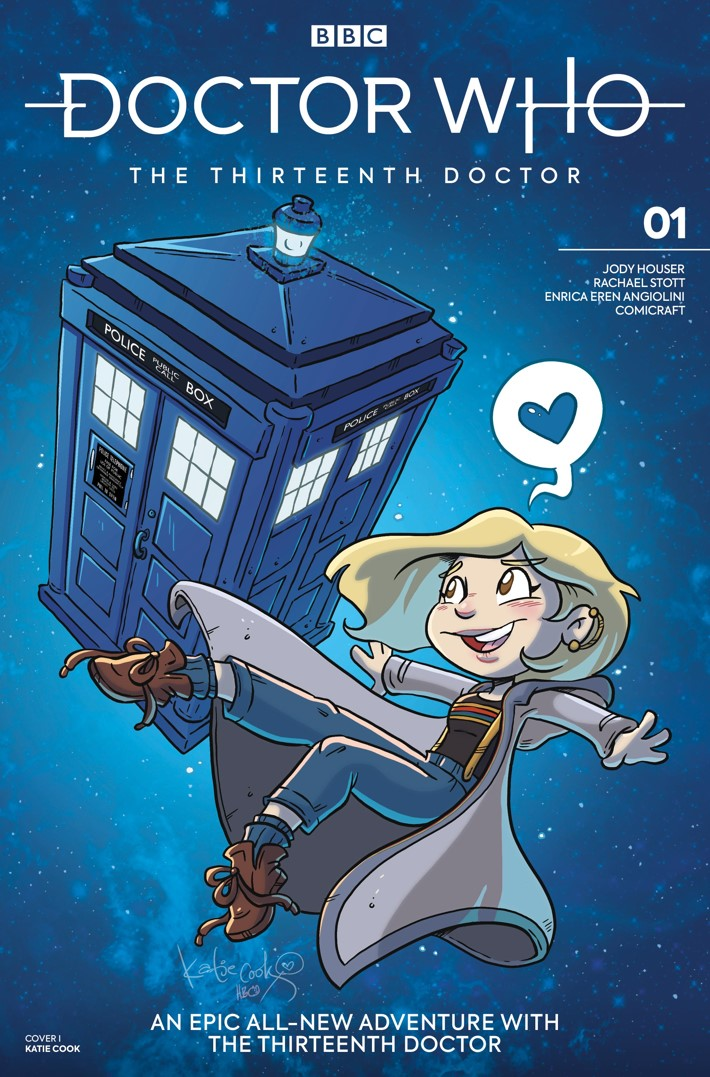 DW_13D1_Cover_I_Katie_Cook ComicList Previews: DOCTOR WHO THE THIRTEENTH DOCTOR #1