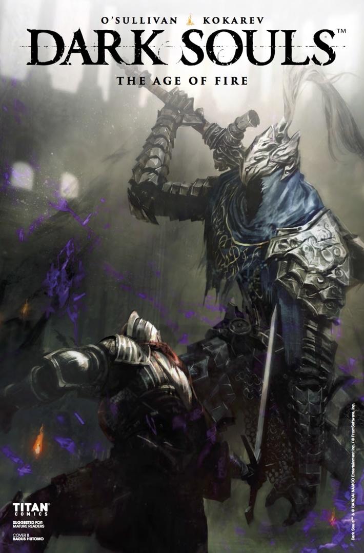 Dark_Souls_Age_of_Fire_1_CvB ComicList Previews: DARK SOULS THE AGE OF FIRE #1