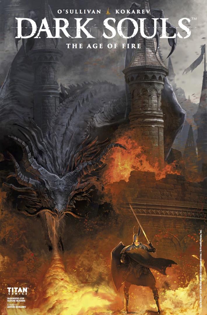 Dark_Souls_Age_of_Fire_1_CvC ComicList Previews: DARK SOULS THE AGE OF FIRE #1