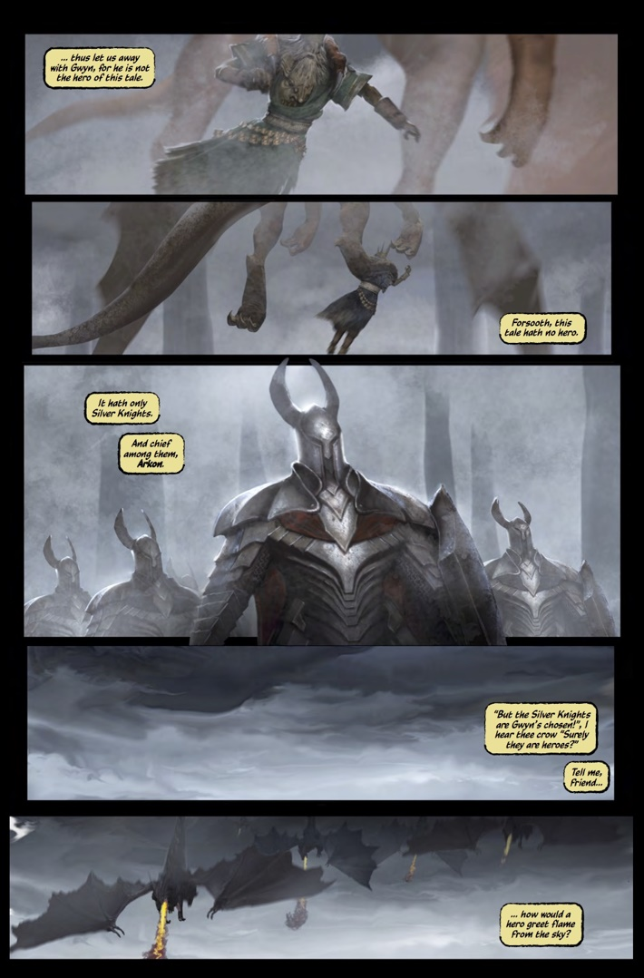 Dark_Souls_Age_of_Fire_1_Pg2 ComicList Previews: DARK SOULS THE AGE OF FIRE #1