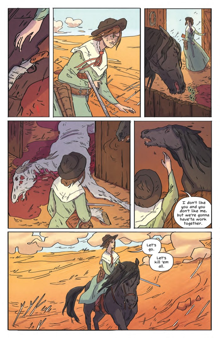 DeathBeDamned_SC_PRESS_13 ComicList Previews: DEATH BE DAMNED VOLUME 1 TP