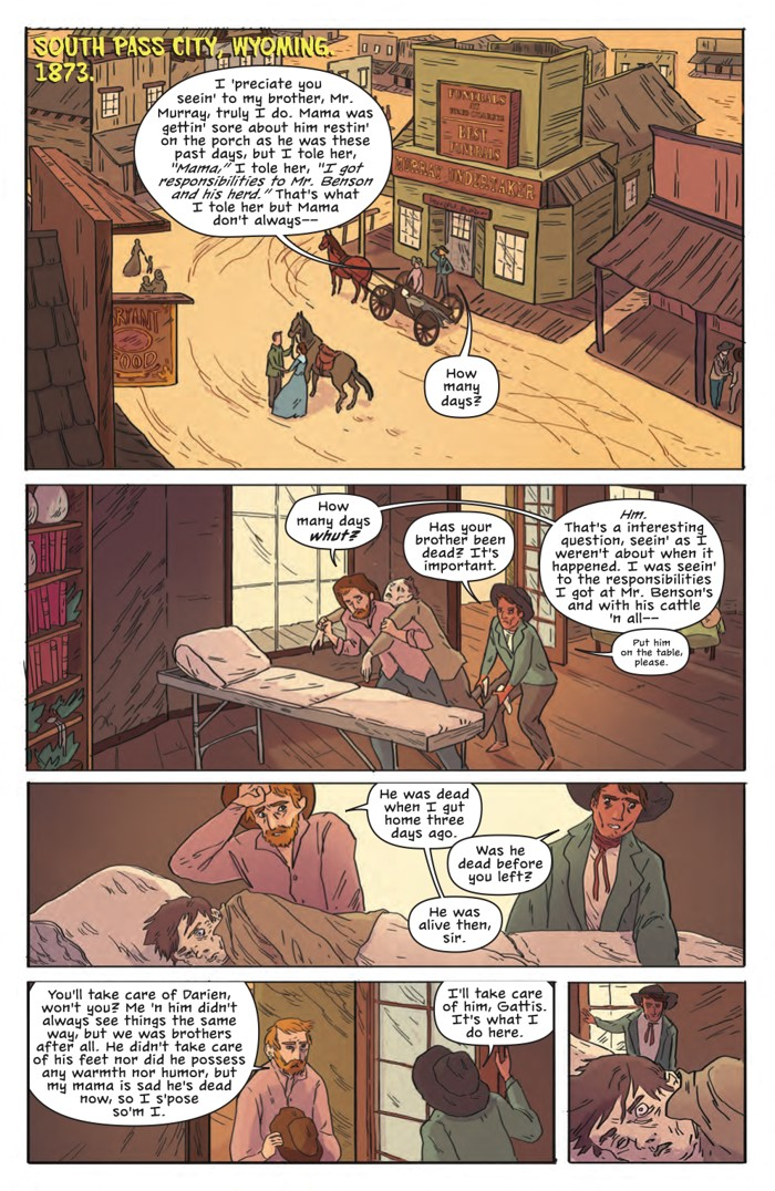 DeathBeDamned_SC_PRESS_14 ComicList Previews: DEATH BE DAMNED VOLUME 1 TP