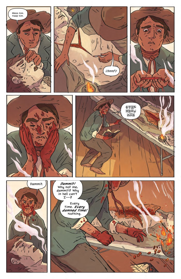 DeathBeDamned_SC_PRESS_15 ComicList Previews: DEATH BE DAMNED VOLUME 1 TP