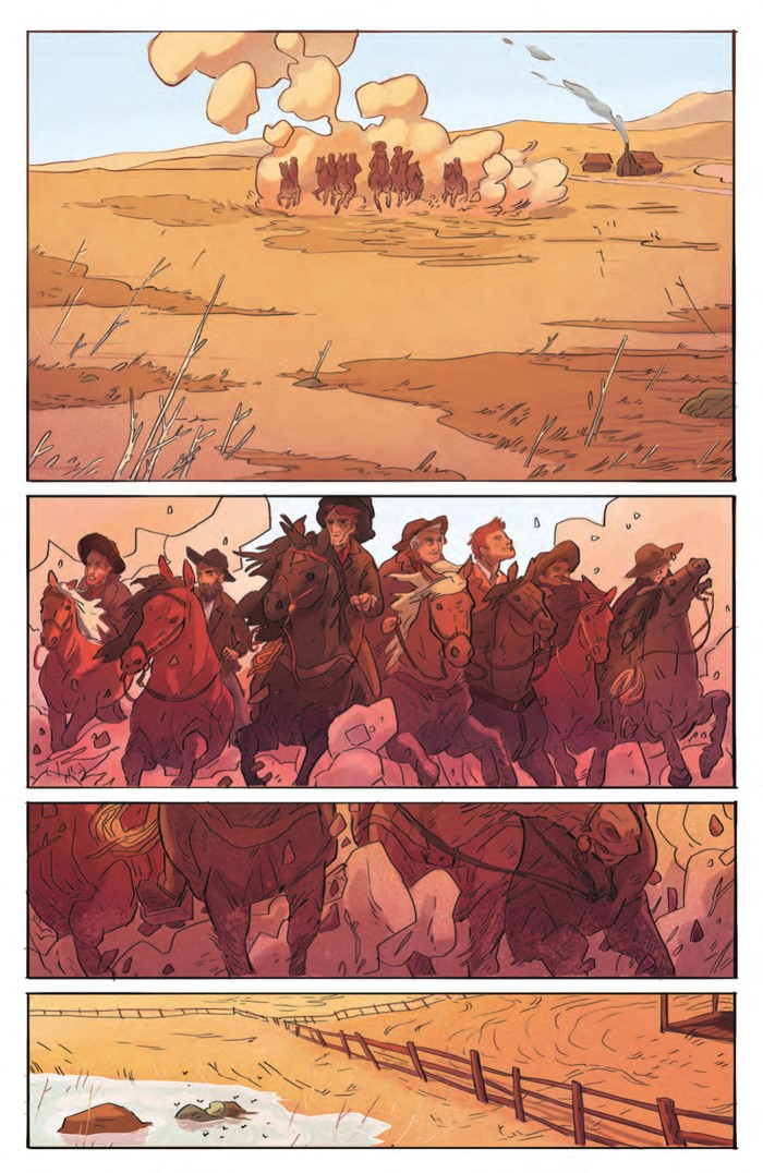 DeathBeDamned_SC_PRESS_9 ComicList Previews: DEATH BE DAMNED VOLUME 1 TP