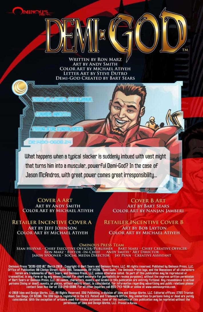 DemiGod_01-pr-2 ComicList Previews: DEMI-GOD #1