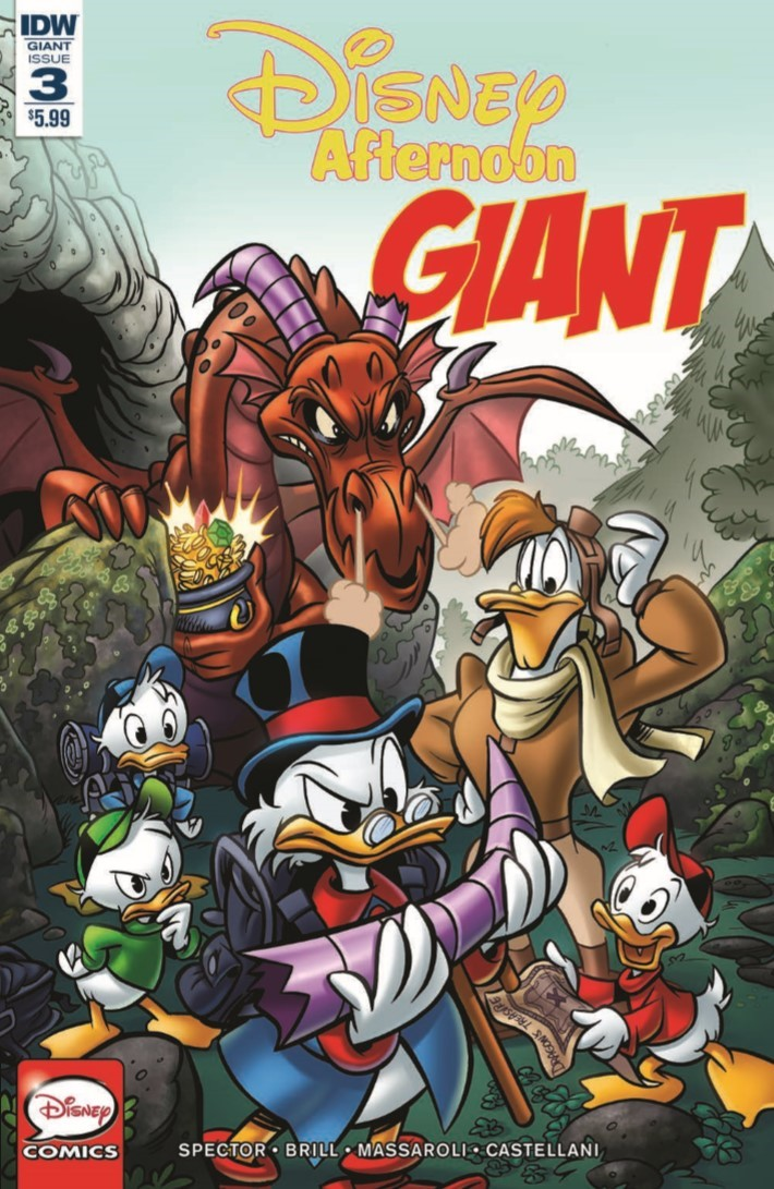 Disney_Afternoon_Giant_03-pr-1 ComicList Previews: DISNEY AFTERNOON GIANT #3