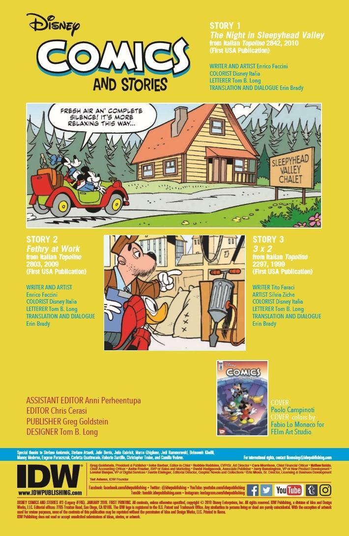 Disney_Comics_Stories_03-pr-2 ComicList Previews: DISNEY COMICS AND STORIES #3