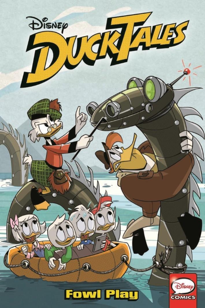 DuckTales_Vol04_Fowl_Play-pr-1 ComicList Previews: DUCKTALES VOLUME 4 FOWL PLAY TP