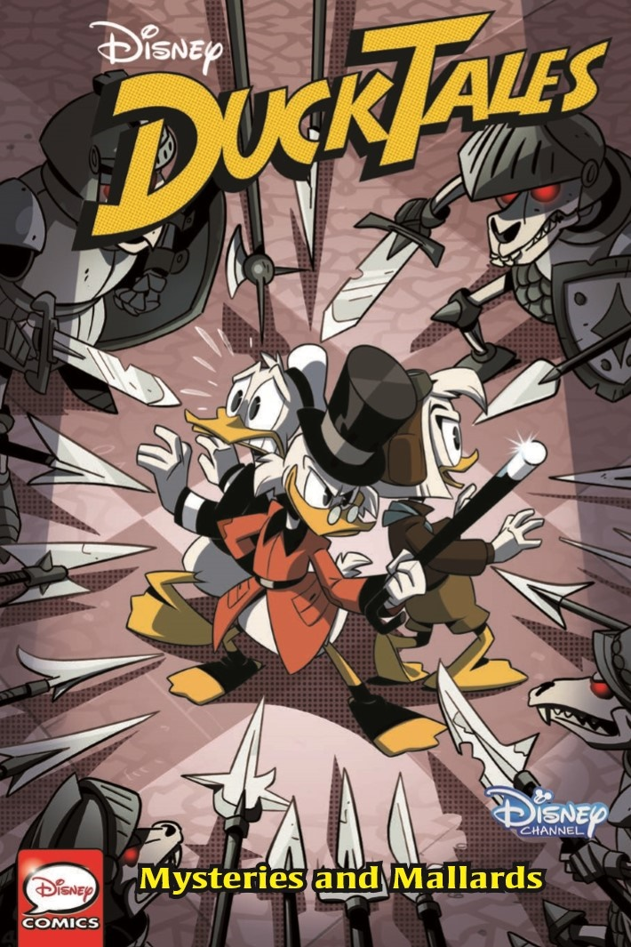 DuckTales_Vol2_MystersiesMallards-pr-1 ComicList Previews: DUCKTALES MYSTERIES AND MALLARDS TP