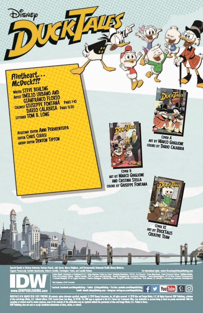 Ducktales_19-pr-2 ComicList Previews: DUCKTALES #19