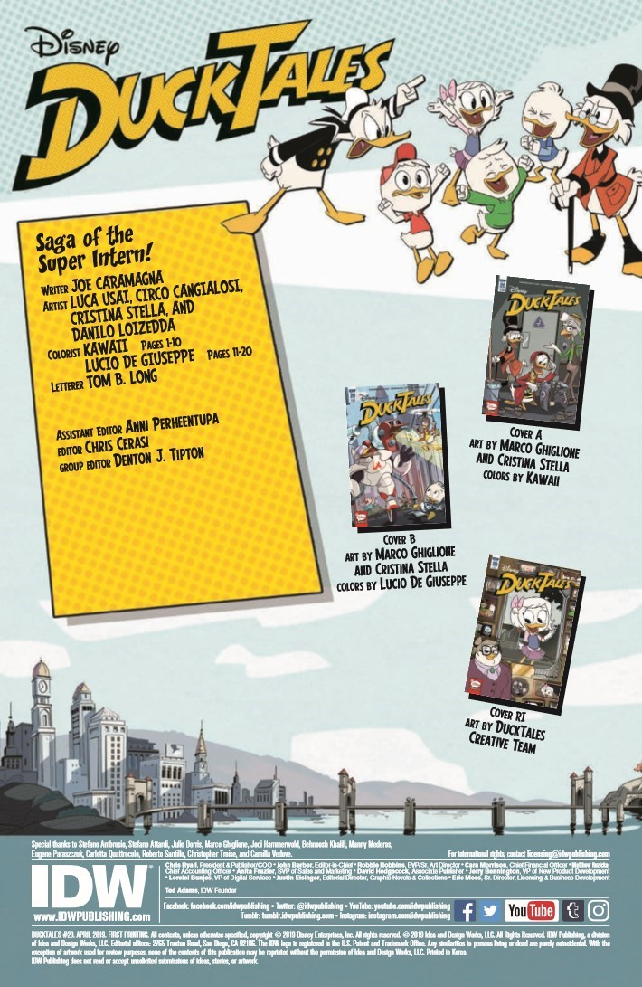 Ducktales_20-pr-2 ComicList Previews: DUCKTALES #20
