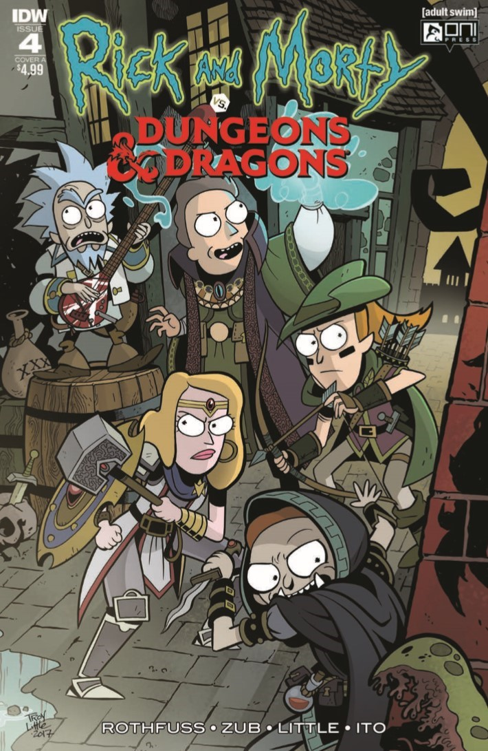 Dungeons_&_Dragons_Rick_Morty_04-pr-1 ComicList Previews: RICK AND MORTY VS DUNGEONS AND DRAGONS #4