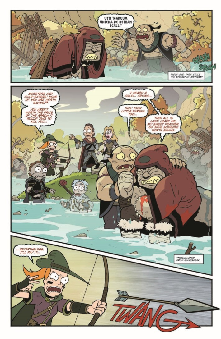 Dungeons_&_Dragons_Rick_Morty_04-pr-3 ComicList Previews: RICK AND MORTY VS DUNGEONS AND DRAGONS #4