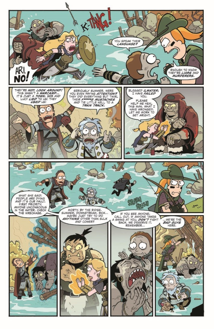 Dungeons_&_Dragons_Rick_Morty_04-pr-4 ComicList Previews: RICK AND MORTY VS DUNGEONS AND DRAGONS #4