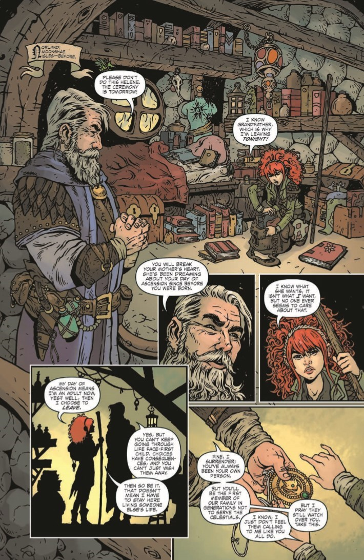 Dungeons_Dragons_Darkened_Wish_01-pr-7 ComicList Previews: DUNGEONS AND DRAGONS A DARKENED WISH #1