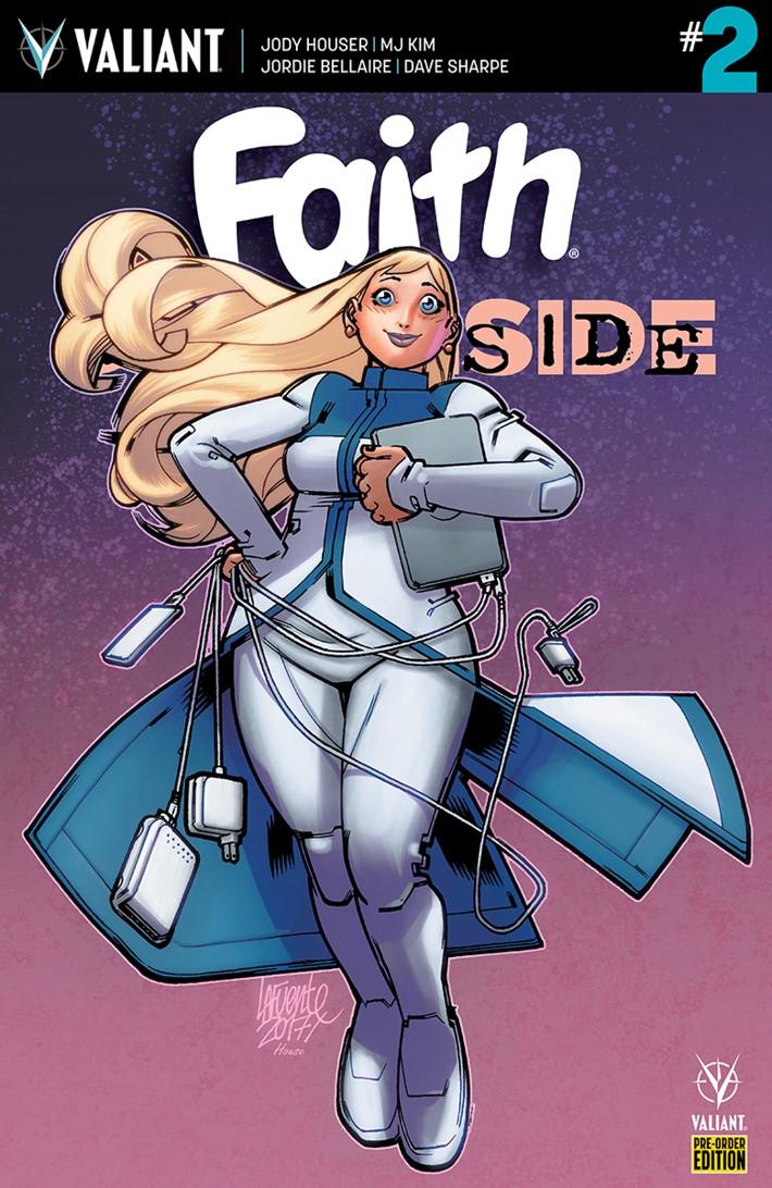 FAITH_DS_002_PRE-ORDER_LAFUENTE ComicList: Valiant Entertainment New Releases for 10/31/2018