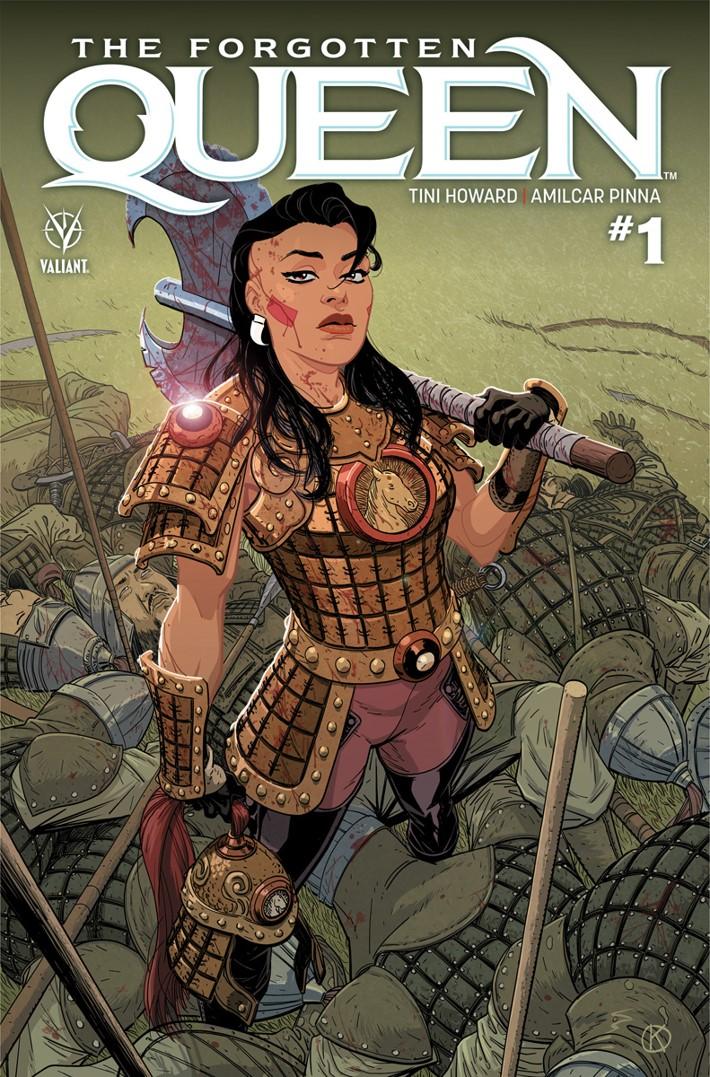 FQ1_A ComicList Previews: THE FORGOTTEN QUEEN #1