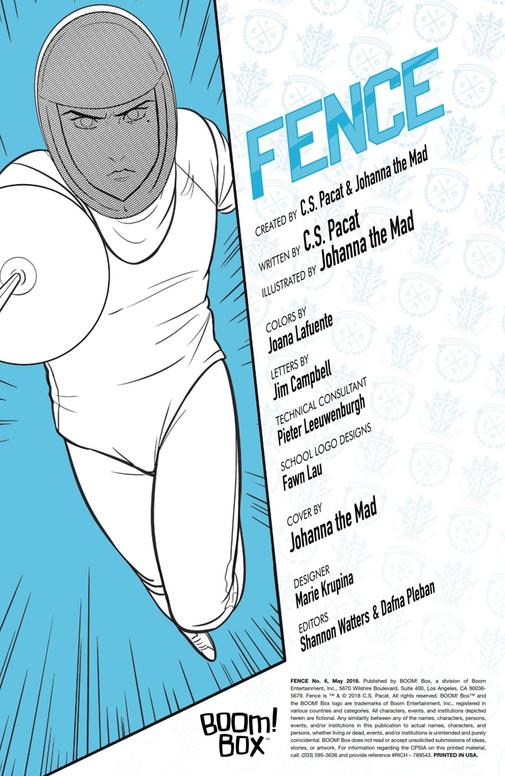 Fence_006_PRESS_2 ComicList Previews: FENCE #6