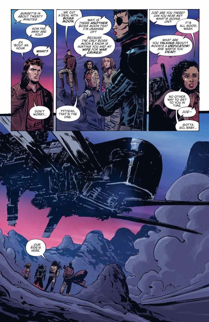 Firefly_004_PRESS_4 ComicList Previews: FIREFLY #4