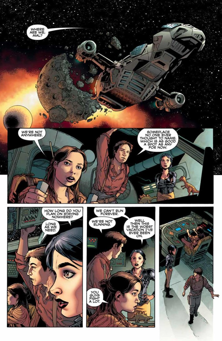 Firefly_Legacy_v2_SC_PRESS_13 ComicList Previews: FIREFLY LEGACY EDITION VOLUME 2 TP
