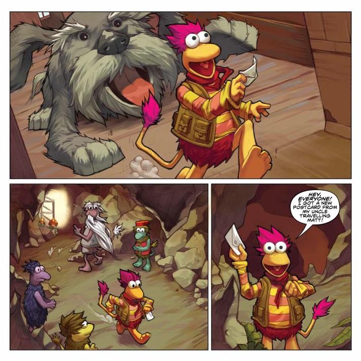 FraggleRock_Omnibus_SC_PRESS_15 ComicList Previews: JIM HENSON'S FRAGGLE ROCK OMNIBUS TP